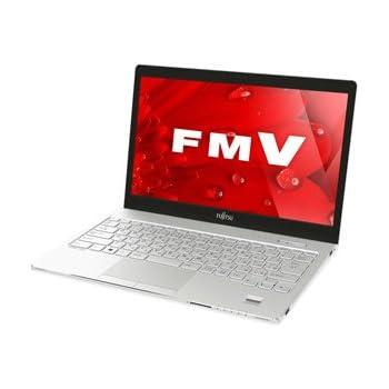 富士通 13.3型 ノートパソコンFMV LIFEBOOK SH75/B1 アーバンホワイト(Office Home&Business Premium プラス Office 365) FMVS75B1W