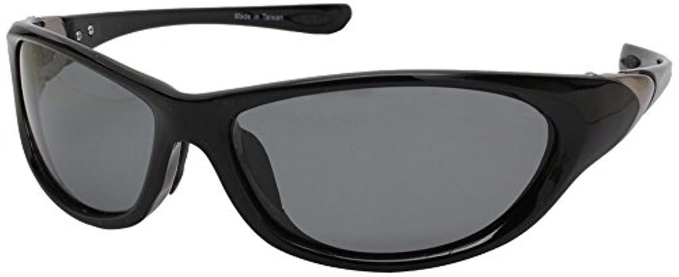 ベーストークン弾性ANYCCS(エニックス) サングラス スポーツ 偏光レンズ ブラック SS04-P1121