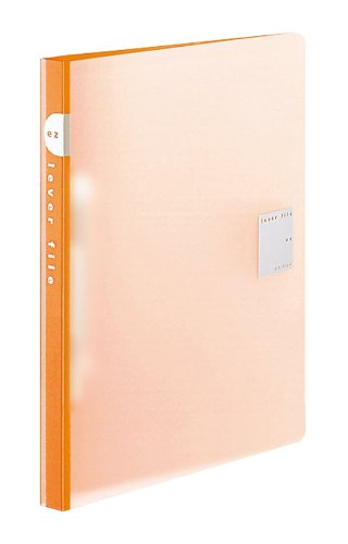 [해외]코쿠 요 레버 파일 EZ PP 표지 B5 120 매 수용 오렌지 프 -U321YR parent/Kokuyo lever file EZ PP cover B5 120 sheets storage orange - U 321 YR parent