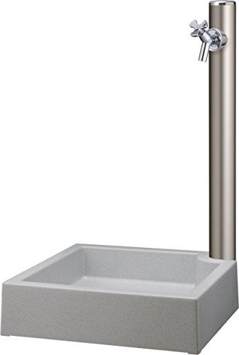 水栓柱 丸形アルミ柱HI-16×960シャンパンN 水協