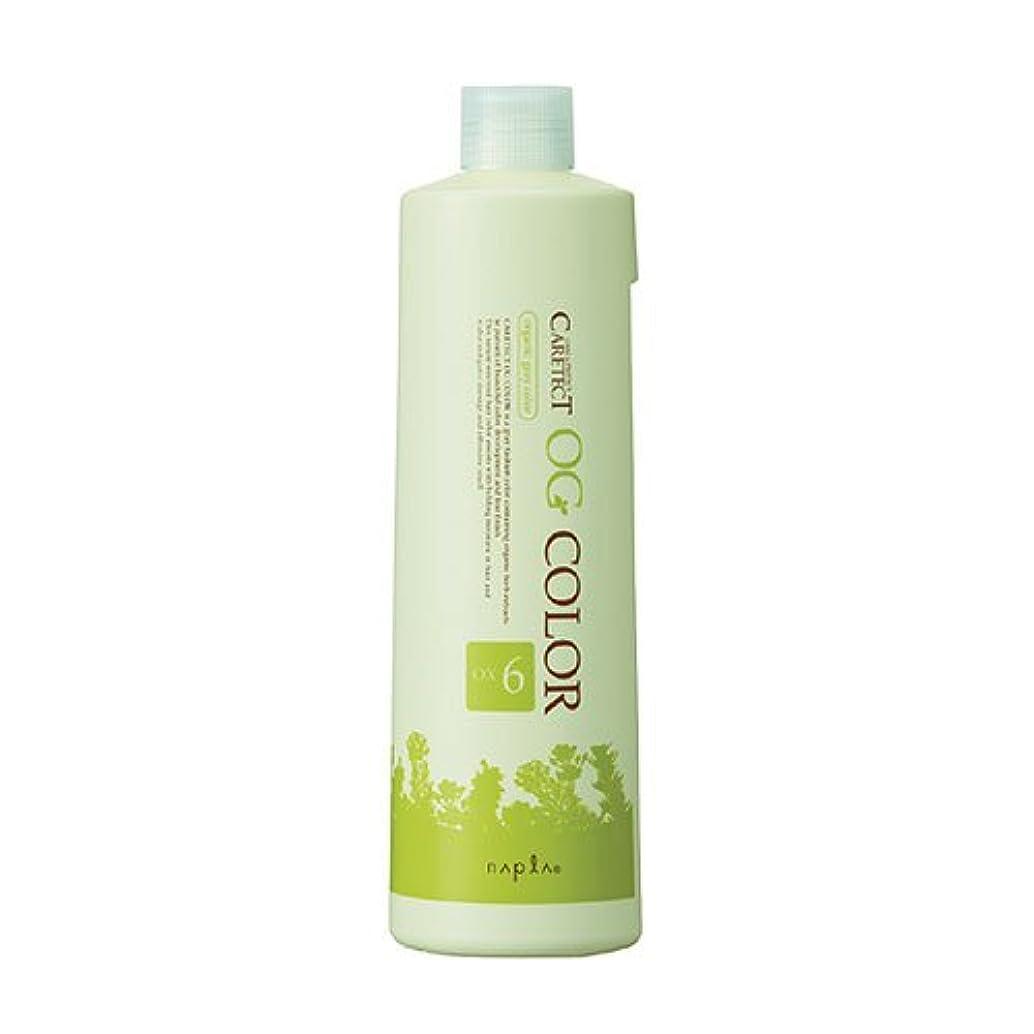 ナプラ OG ケアテクト カラー オキシ OX 1000ml 6% 【ヘアカラー2剤】【業務用】【医薬部外品】