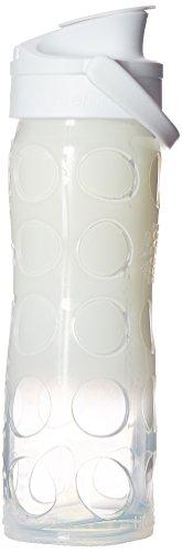 LIFEFACTORYグラスボトル アクティブ 475 ホワイトオンブル 129223