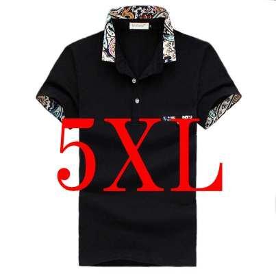 (メイク トゥ ビー) Make 2 Be メンズ カジュアル 花柄 ポロシャツ ゴルフ KB16 (26ブラック_5XL)