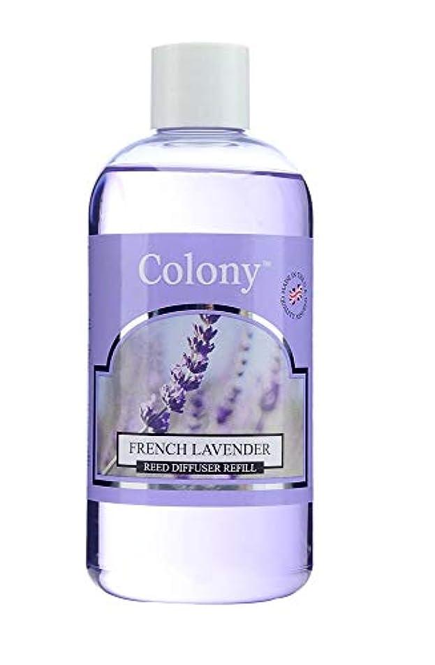 望みディスコ綺麗なColony HomeScents Series ディフューザー用リフィル 250ml フレンチラベンダー CNCH2861