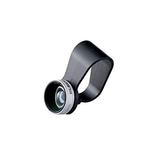 エレコム セルカレンズ/0.67倍広角レンズ マクロレンズ付 シルバー P-SL067SV 1個