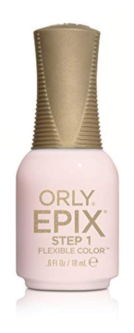 ペイント曇ったパワーセルOrly Epix Flexible Color Lacquer - Close Up - 0.6oz/18ml