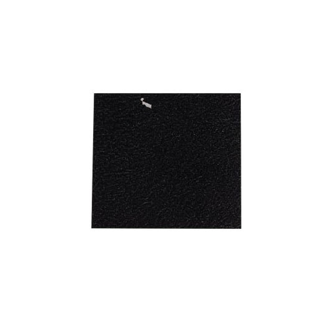 秘密の部屋を掃除する影響を受けやすいですピカエース ネイル用パウダー カラー純銀箔 #620 黒色 3.5㎜角×5枚