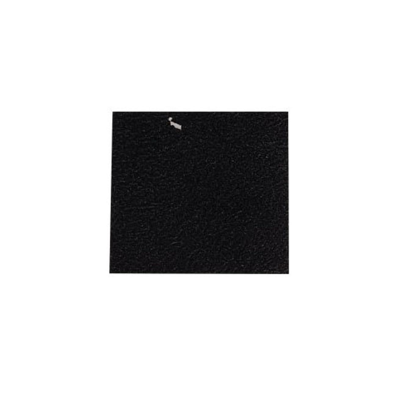 百万不誠実タイトピカエース ネイル用パウダー カラー純銀箔 #620 黒色 3.5㎜角×5枚
