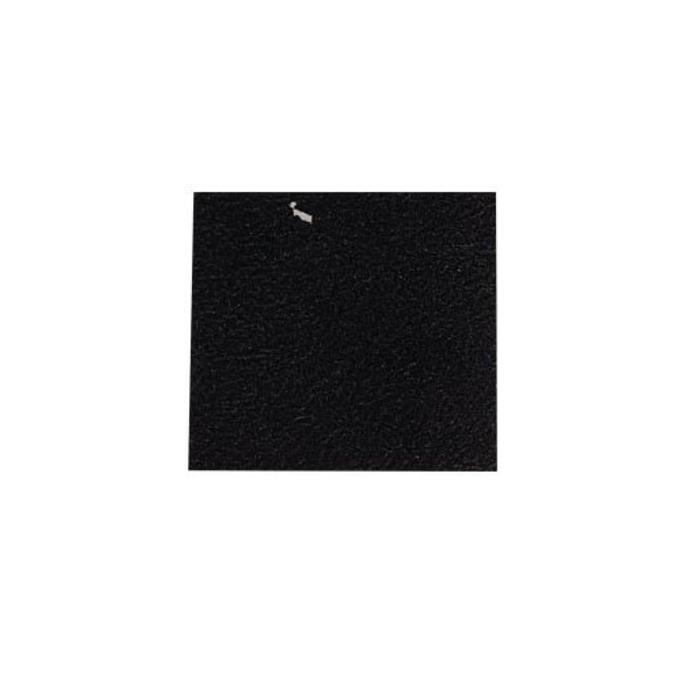 陪審一回生き返らせるピカエース ネイル用パウダー カラー純銀箔 #620 黒色 3.5㎜角×5枚