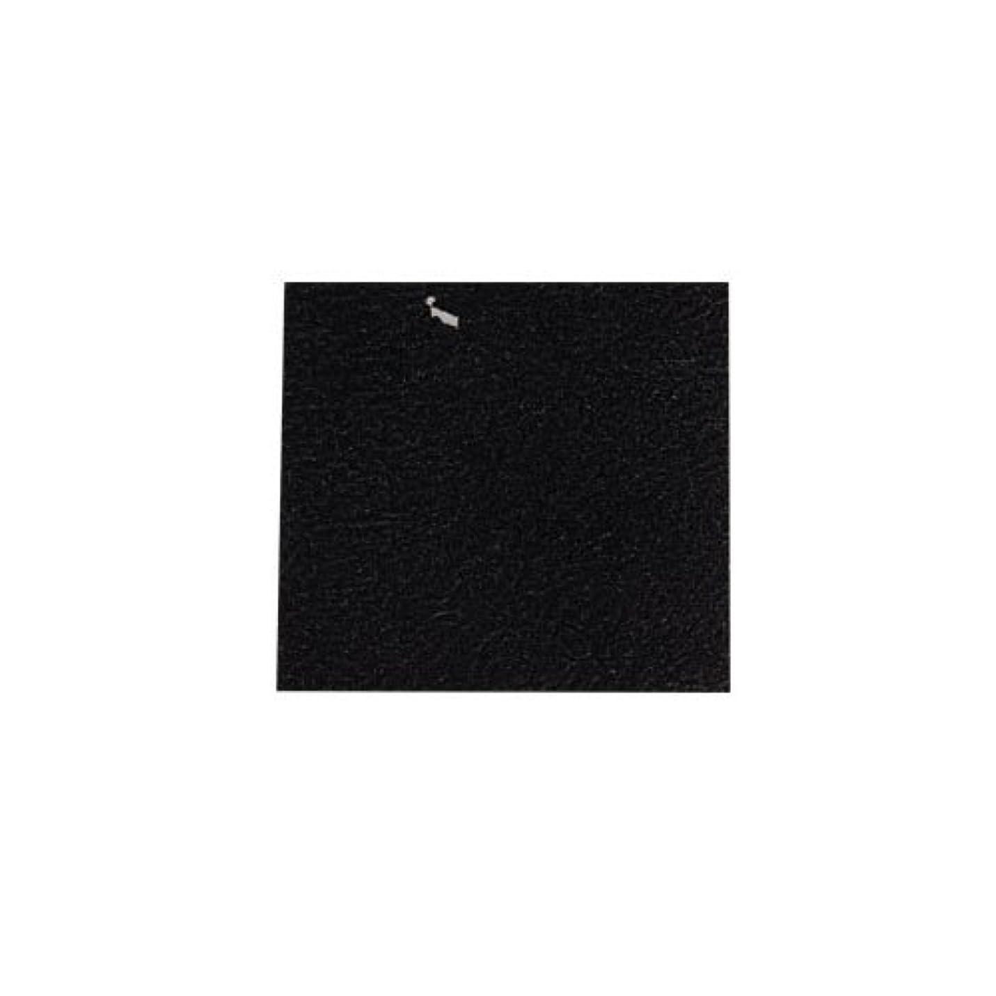 それによってリレー歯車ピカエース ネイル用パウダー カラー純銀箔 #620 黒色 3.5㎜角×5枚