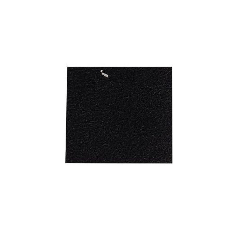 主張するオーバーラン蒸ピカエース ネイル用パウダー カラー純銀箔 #620 黒色 3.5㎜角×5枚
