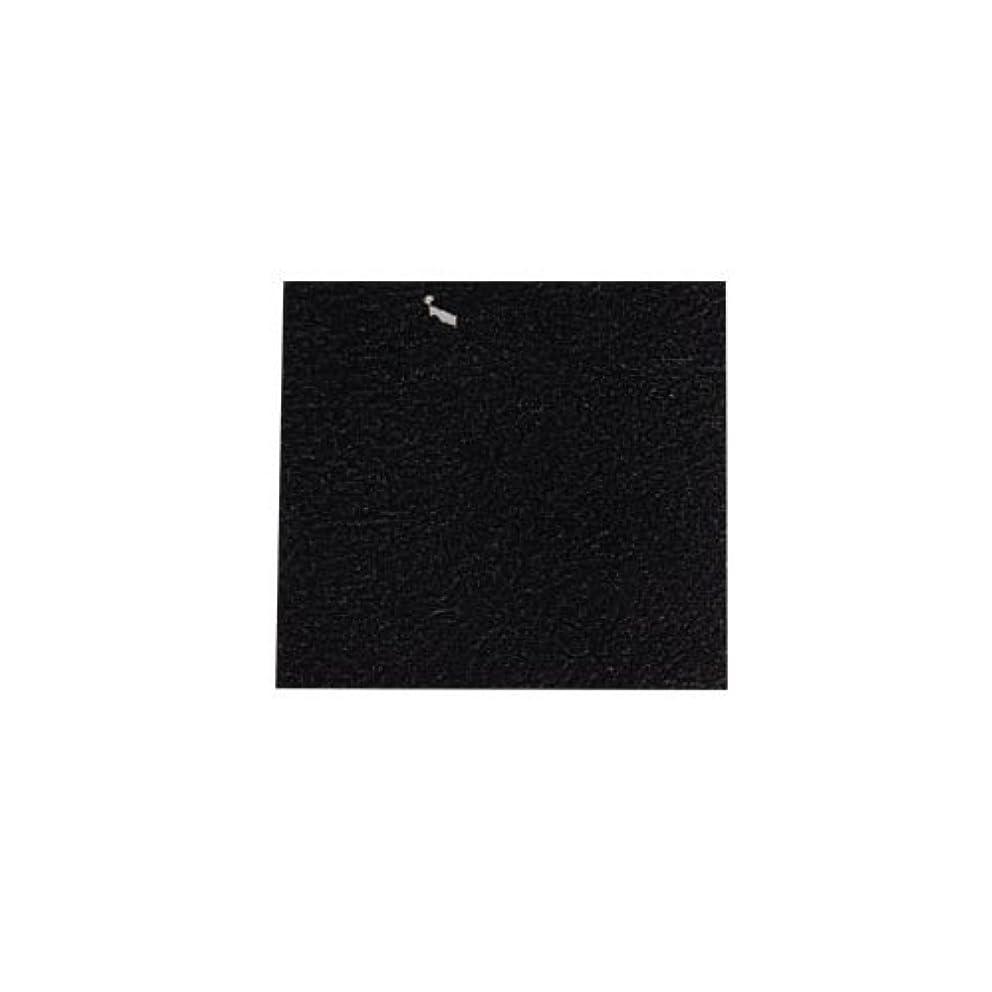 栄光召集する海里ピカエース ネイル用パウダー カラー純銀箔 #620 黒色 3.5㎜角×5枚