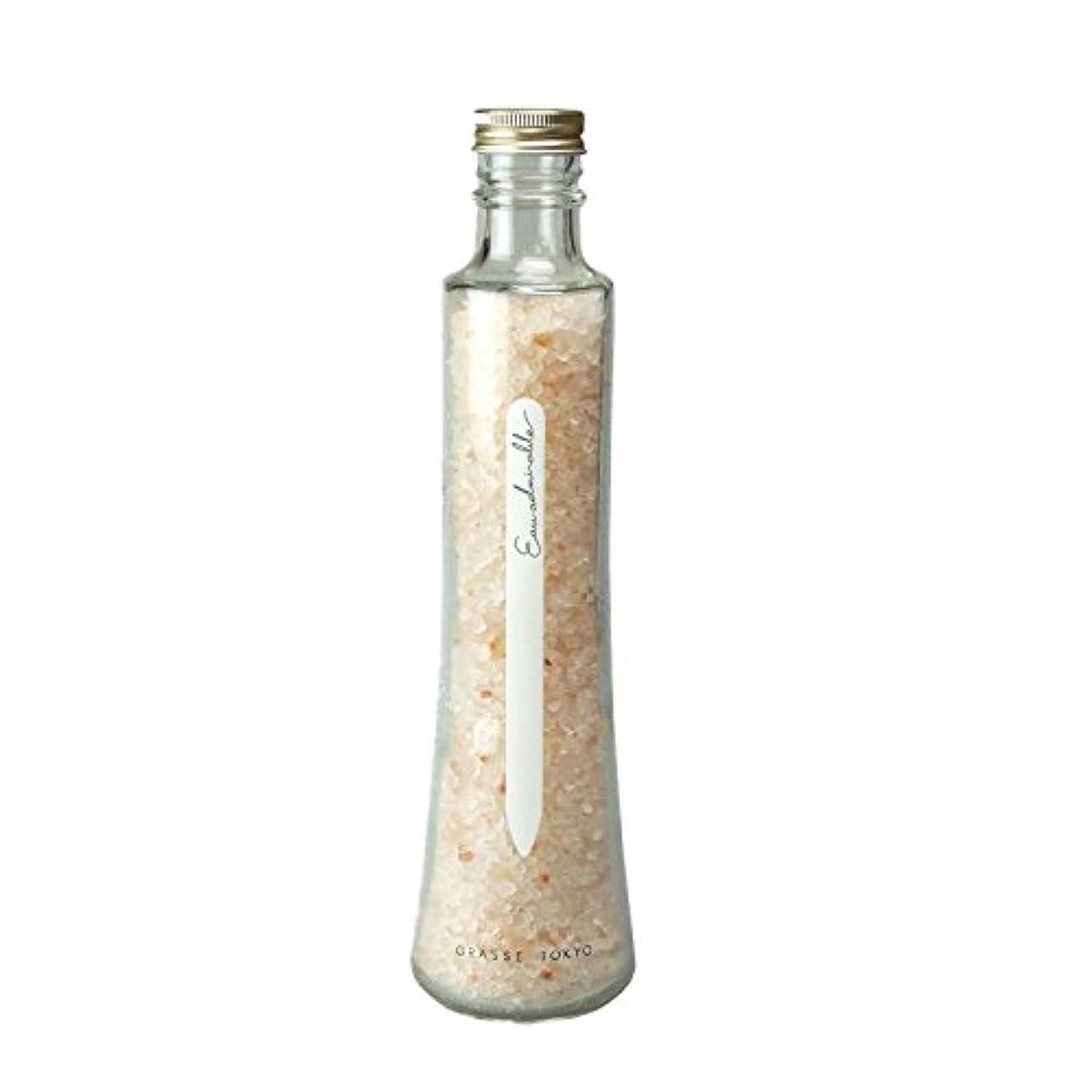 マントルどこでもパドルグラーストウキョウ フレグランスソルト(浴用、12回分ボトル) Eau admirable 360g