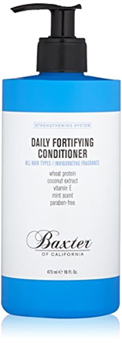 行く平らな大佐バクスターオブカリフォルニア Strengthening System Daily Fortifying Conditioner (All Hair Types) 473ml