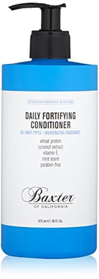 暴力的な浸した学者バクスターオブカリフォルニア Strengthening System Daily Fortifying Conditioner (All Hair Types) 473ml