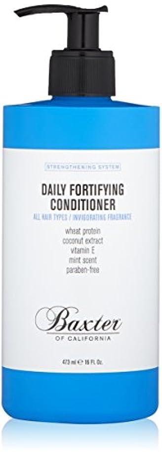 フィードバックモード教育者バクスターオブカリフォルニア Strengthening System Daily Fortifying Conditioner (All Hair Types) 473ml