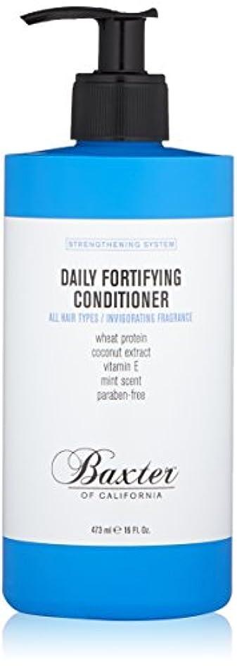 独立安定しました嵐のバクスターオブカリフォルニア Strengthening System Daily Fortifying Conditioner (All Hair Types) 473ml