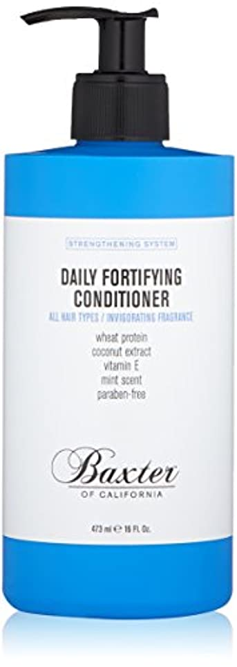 オーディション標高土バクスターオブカリフォルニア Strengthening System Daily Fortifying Conditioner (All Hair Types) 473ml