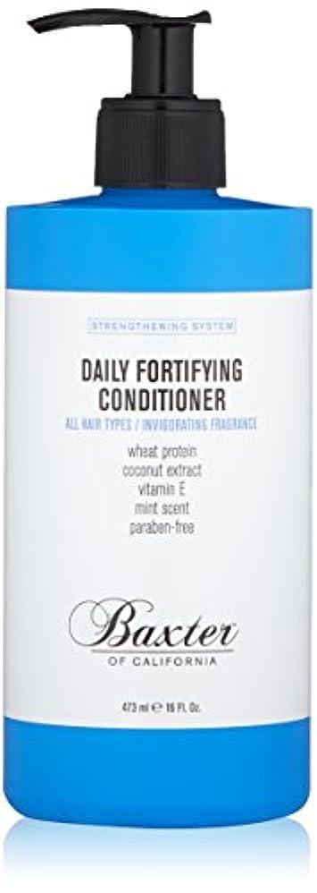 積極的に素朴な謙虚バクスターオブカリフォルニア Strengthening System Daily Fortifying Conditioner (All Hair Types) 473ml
