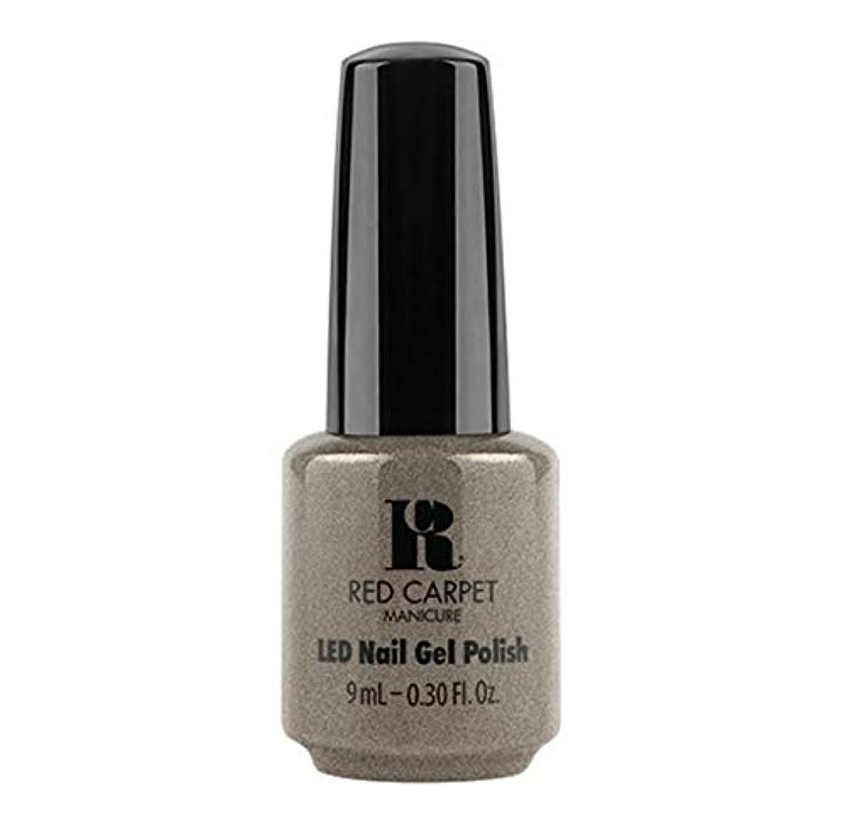 耐えるメンタル問い合わせRed Carpet Manicure - LED Nail Gel Polish - Hustle Is Real - 9ml / 0.30oz