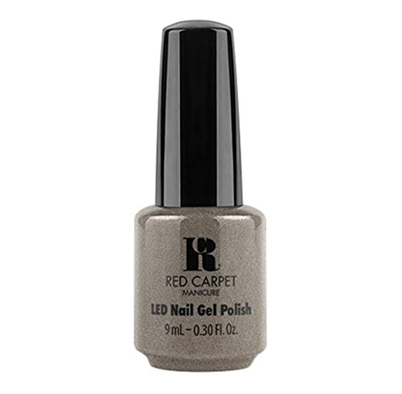 キノコボクシング宴会Red Carpet Manicure - LED Nail Gel Polish - Hustle Is Real - 9ml / 0.30oz