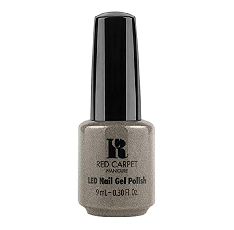 解釈的順番ホイットニーRed Carpet Manicure - LED Nail Gel Polish - Hustle Is Real - 9ml / 0.30oz