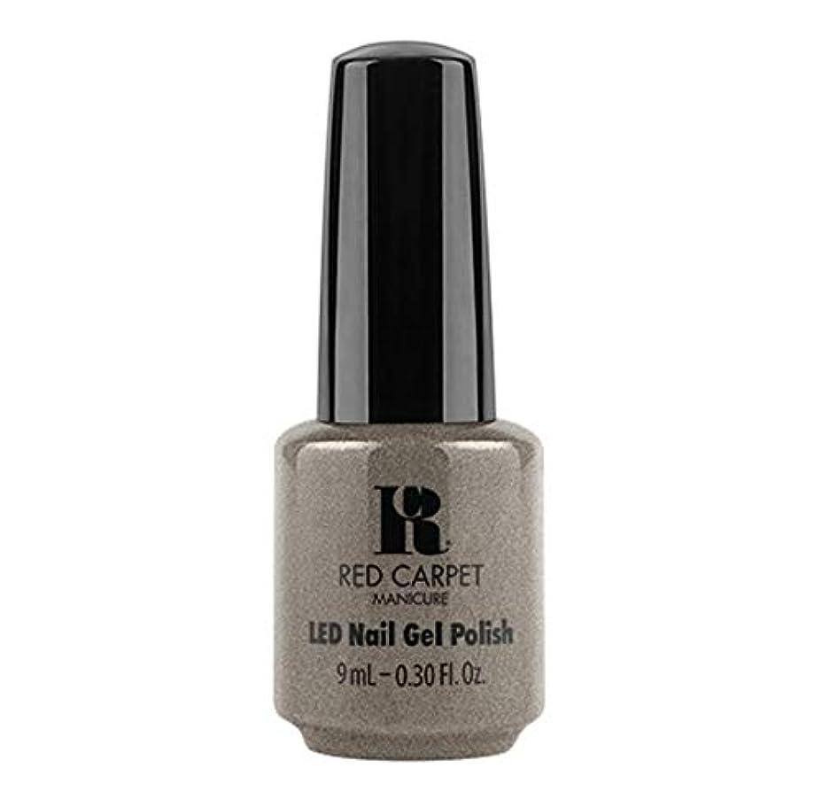 ジャベスウィルソン無人の前でRed Carpet Manicure - LED Nail Gel Polish - Hustle Is Real - 9ml / 0.30oz