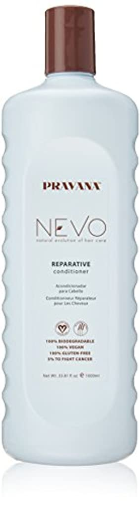ラビリンス溶岩良さPravana Nevo Reparative Conditioner 33.81 Oz/1000ml by Pravana