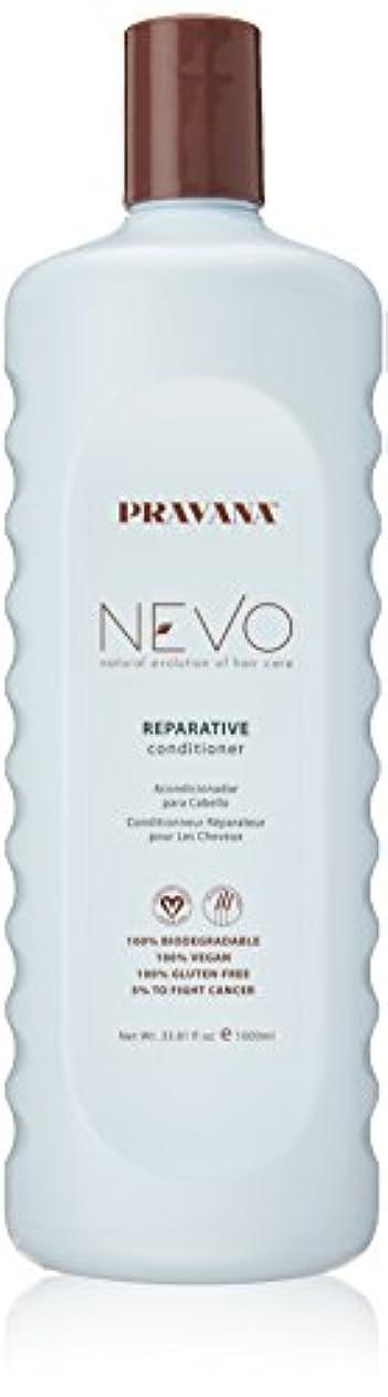 ハーフ幻滅カウントPravana Nevo Reparative Conditioner 33.81 Oz/1000ml by Pravana