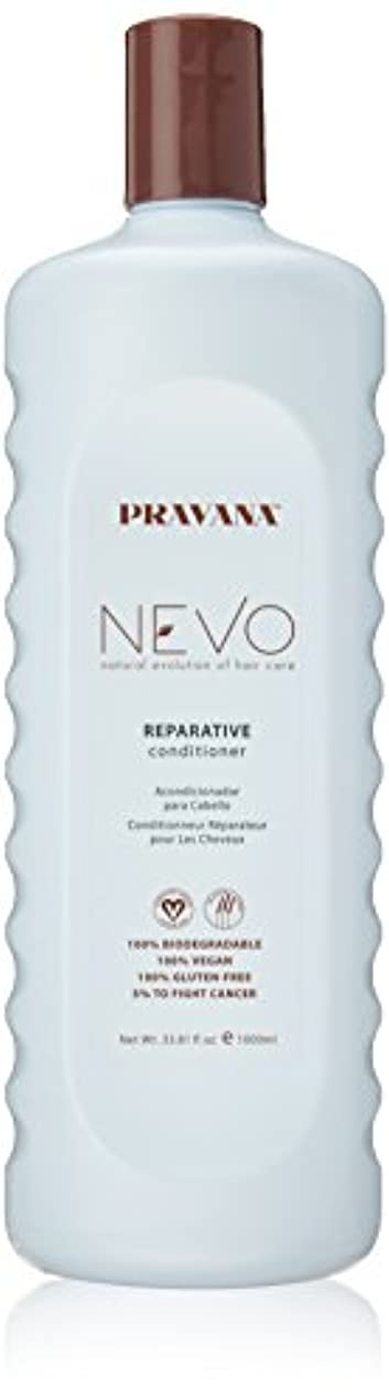 真空絶望的なギャングPravana Nevo Reparative Conditioner 33.81 Oz/1000ml by Pravana