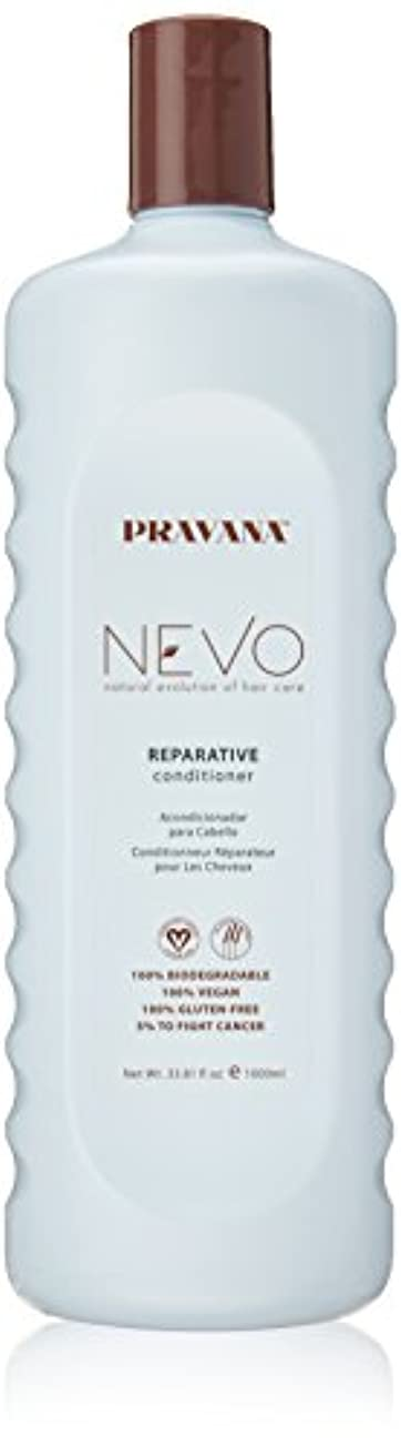 時々時々陽気な保存するPravana Nevo Reparative Conditioner 33.81 Oz/1000ml by Pravana