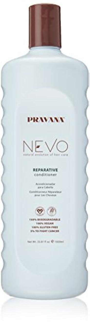 ポット放つ良性Pravana Nevo Reparative Conditioner 33.81 Oz/1000ml by Pravana
