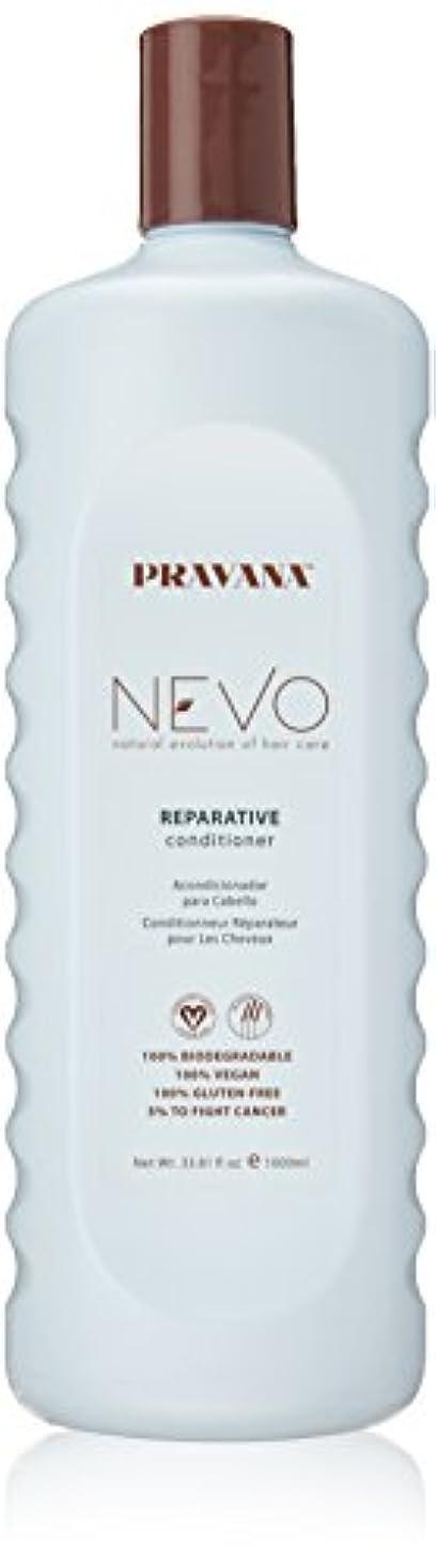 病気の世界的に結婚式Pravana Nevo Reparative Conditioner 33.81 Oz/1000ml by Pravana