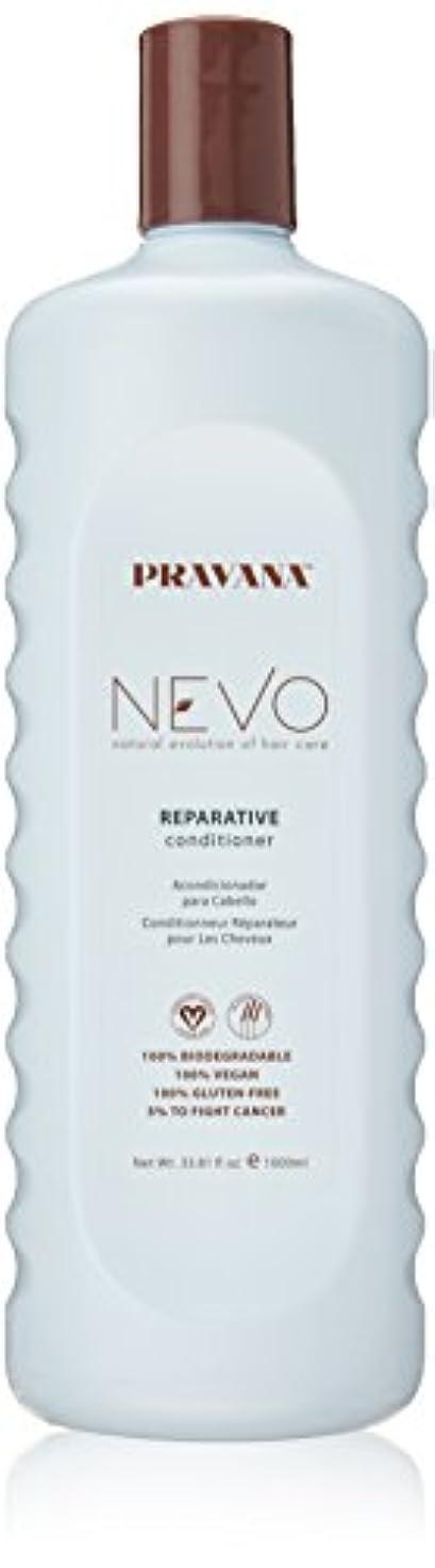 町識字かわいらしいPravana Nevo Reparative Conditioner 33.81 Oz/1000ml by Pravana