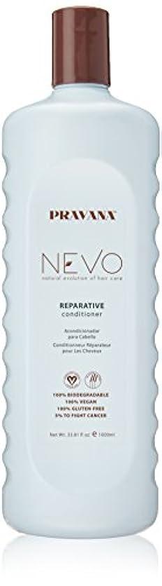 上院警察胆嚢Pravana Nevo Reparative Conditioner 33.81 Oz/1000ml by Pravana