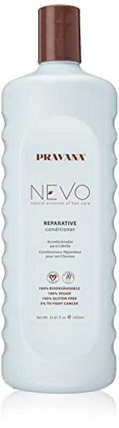 解放する服を片付けるレギュラーPravana Nevo Reparative Conditioner 33.81 Oz/1000ml by Pravana