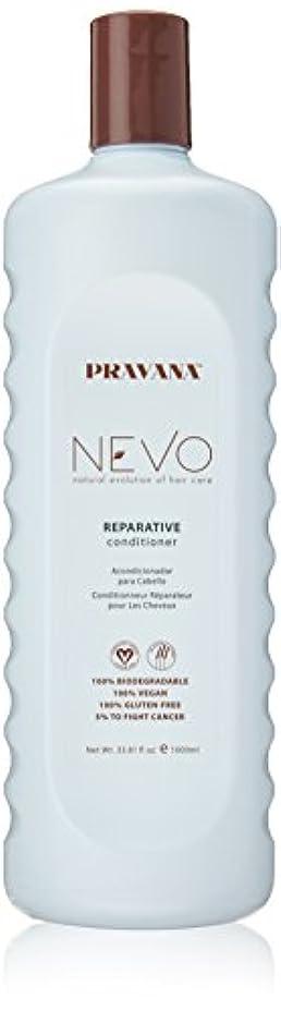 キャッチパーフェルビッド手配するPravana Nevo Reparative Conditioner 33.81 Oz/1000ml by Pravana
