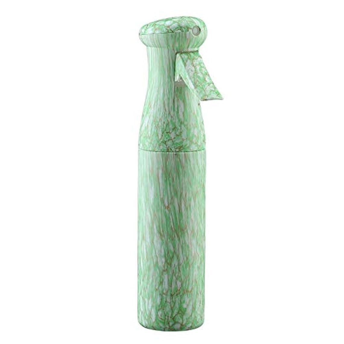 周辺同志暴力的なFaletony(JP) 250ml スプレーボルト 霧吹き スプレー エアリーミスト スプレー サロン 理髪用 美髪用 美容スプレーナー 植物用 ペット用 水やり 新型 連続押しスプレーボトル 木目 (グリーン)