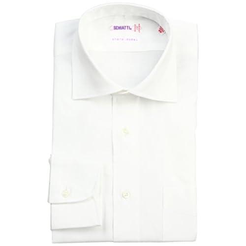 (スキャッティ)SCHIATTI 100番手双糸ツイルワイドカラーシャツ 220304 10 ホワイト 42