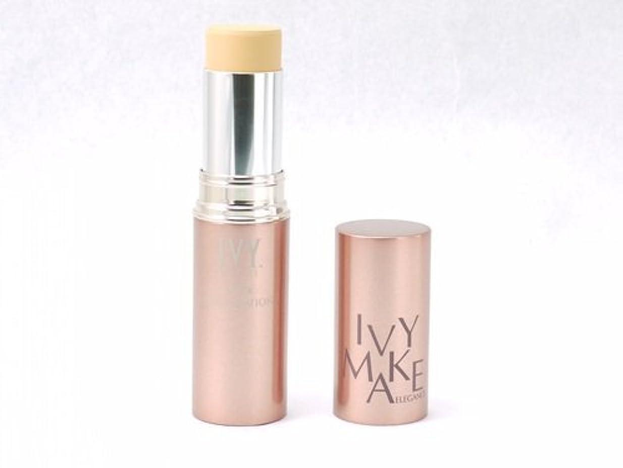 エンゲージメント厚さ熟考するアイビー化粧品 エレガンス スティックファンデーション OC-100 12g