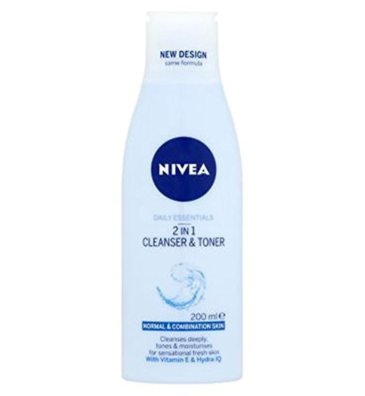 ポルノ異常な兄弟愛Nivea Daily Essentials 2 in 1 Cleanser and Toner 200ml - ニベア生活必需品2 1クレンザーとトナー200ミリリットルで (Nivea) [並行輸入品]