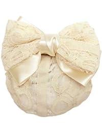 hanlm028ntiwt ヘアアクセサリー 髪飾り (リトルムーン) バレッタ フィラン(シニョンタイプ) アイボリー