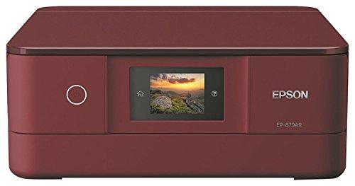 EPSON プリンター インクジェット複合機 カラリオ EP-879AR レッド 6色高画質