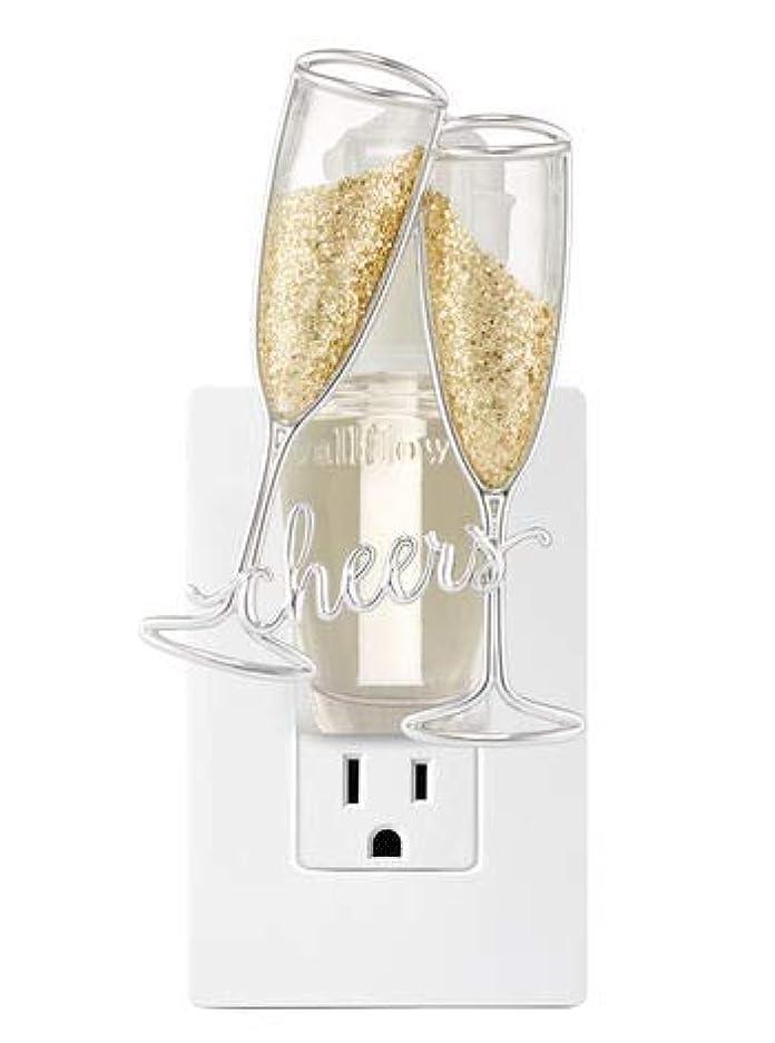 判決幸運なハリケーン【Bath&Body Works/バス&ボディワークス】 ルームフレグランス プラグインスターター (本体のみ) チアーズシャンパン ナイトライト Wallflowers Fragrance Plug Cheers Champagne...
