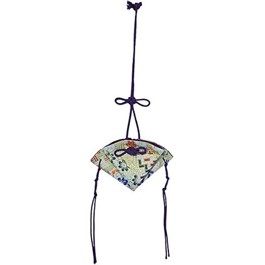 掛香 扇 錦 白(紫紐)
