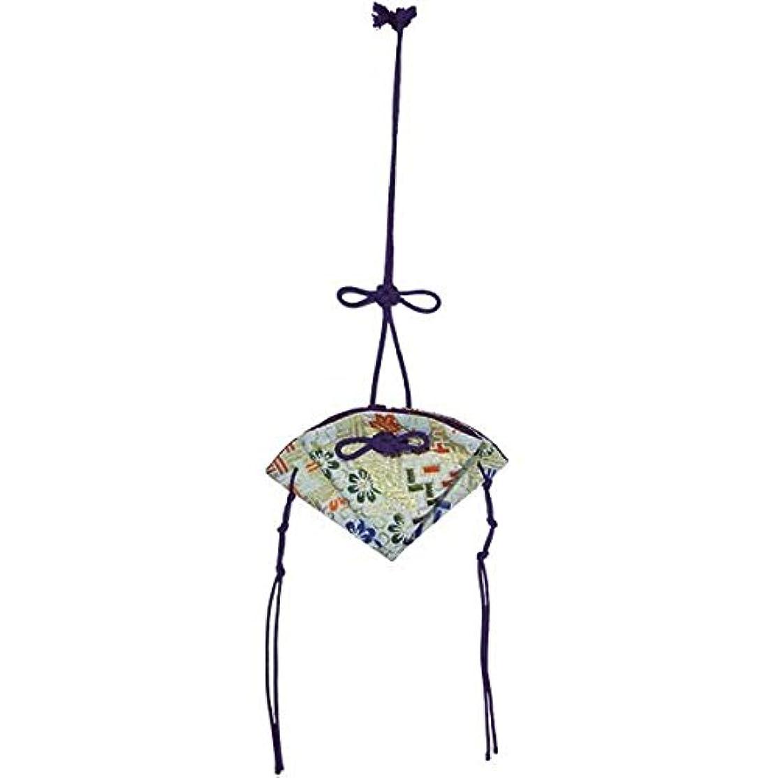 なめらかな発見するベーコン掛香 扇 錦 白(紫紐)