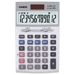 カシオ 電卓(12桁) JS-20WS-N