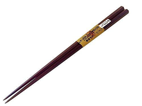 【大黒屋・江戸木箸】七角削り箸 (23.5cm)