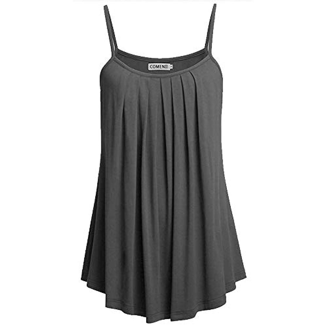 新着退却伝染性のMIFAN ノースリーブトップス、タンクトップ、プラスサイズトップ、サマートップス、女性ブラウス、カジュアルシャツ、トップス&Tシャツ