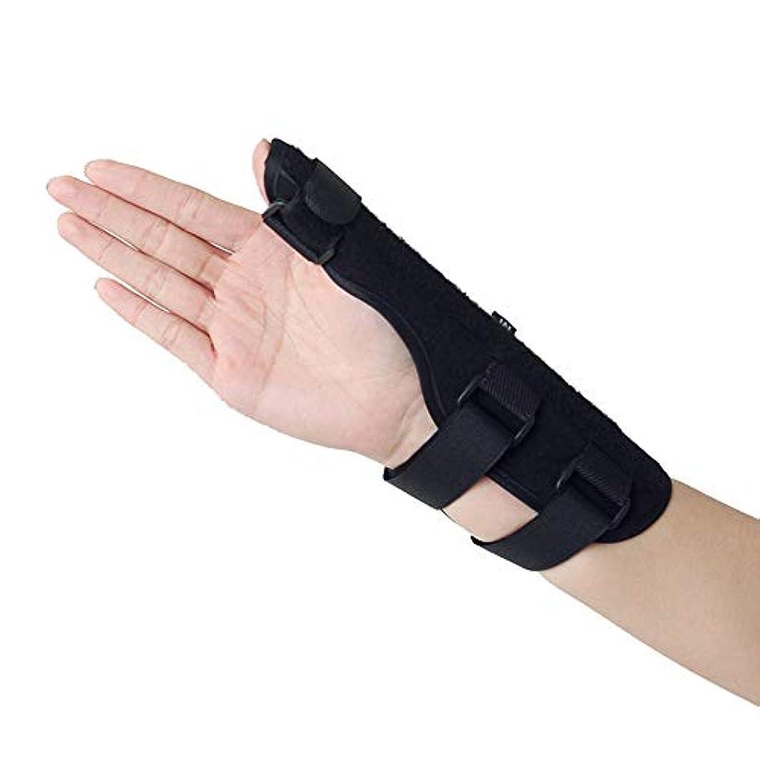 矩形自転車マウスピース親指サポート、手首サポート、関節炎、関節痛、腱炎、捻rain、手の不安定性イモビライザーに最適軽量で通気性